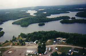 Bay Wolf Camp in Shining Tree, Ontario